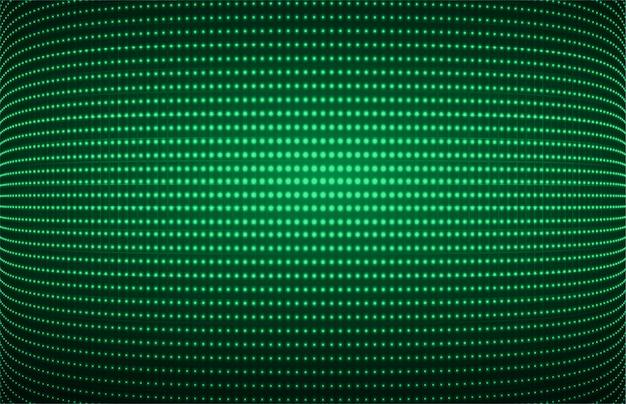 Schermo cinematografico verde per la presentazione del film