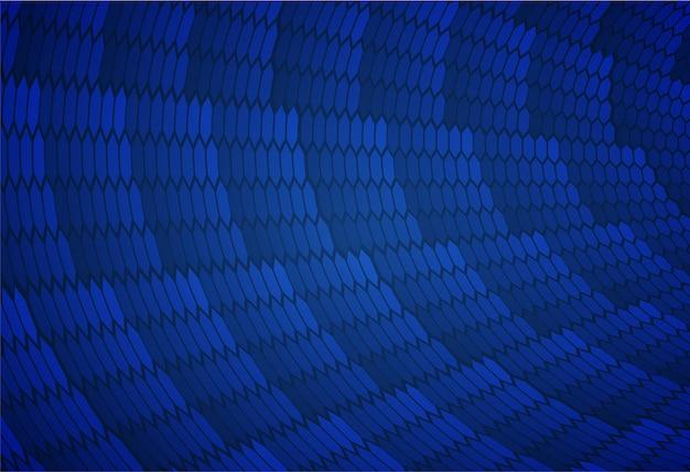 Schermo del cinema blu led per sfondo di presentazione del film