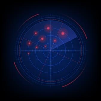 Schermo radar