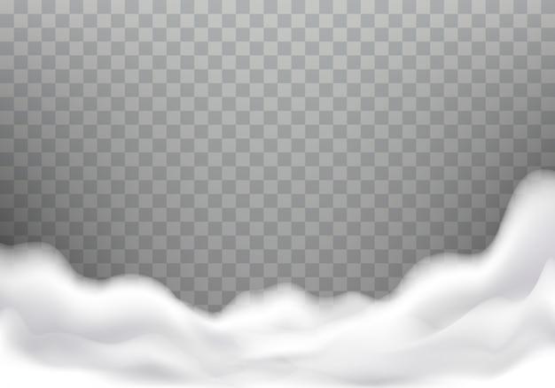 Schiuma da bagno realistica trama, cornice