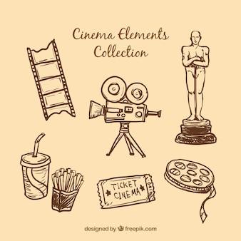 Schizzi elementi essenziali del cinema