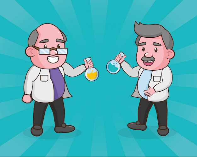 Scienza di laboratorio scientifica