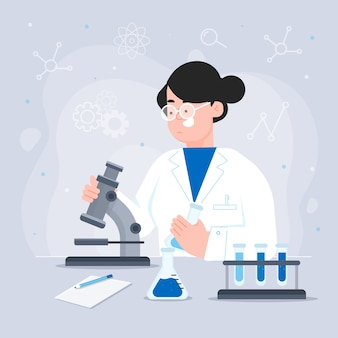 Scienziata professionista