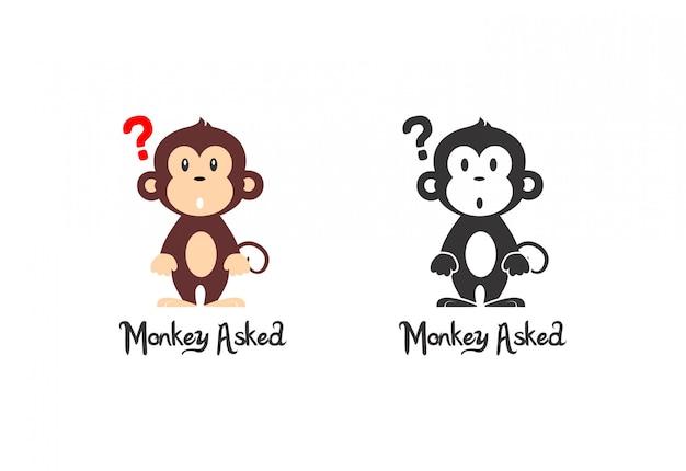 Scimmia chiesta