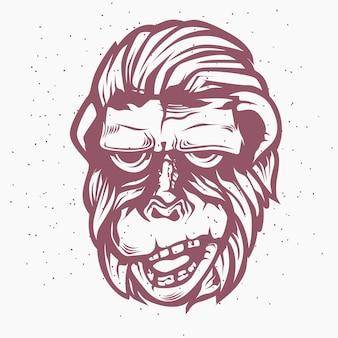 Scimmia rossa