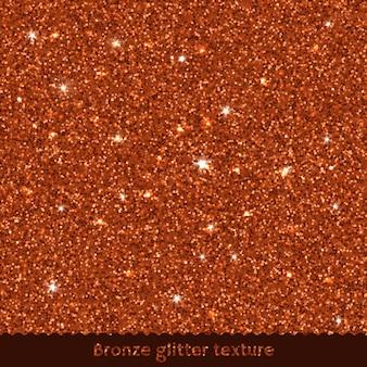 Scintillio bronzo texture di sfondo