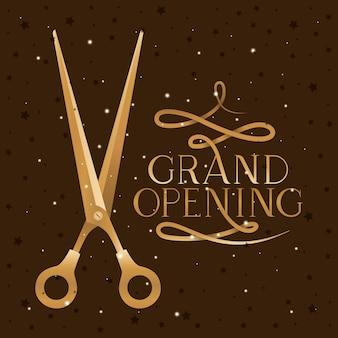 Scissor e grande apertura