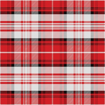 Scozzese scozzese senza cuciture rosso