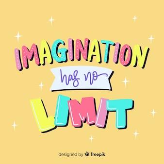 Scritte con citazione per creatività