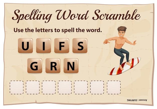 Scrivere parole per cercare parole