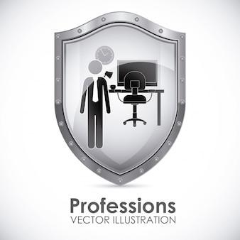 Scudo di professioni
