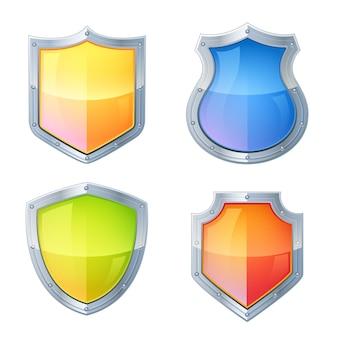 Scudo set di icone