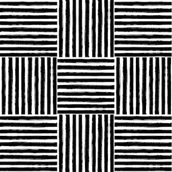 Seamless grafico con linea nera