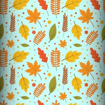 Seamless pattern d'autunno
