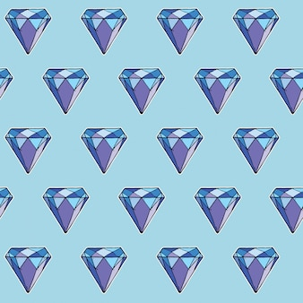 Seamless pattern di diamante,