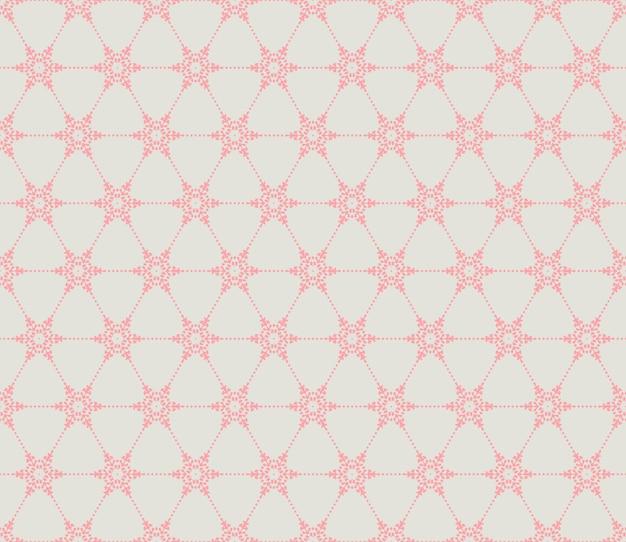 Seamless pattern di fiocchi di neve.