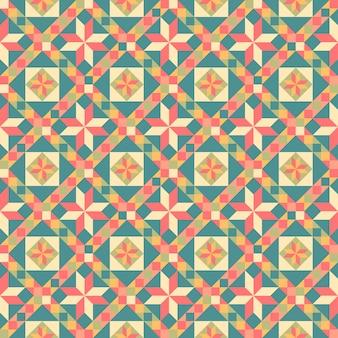 Seamless pattern di patchwork.