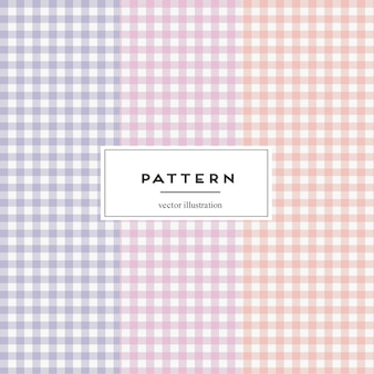 Seamless pattern di percalle