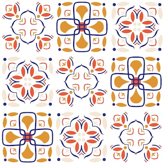 Seamless pattern di piastrelle di ceramica.