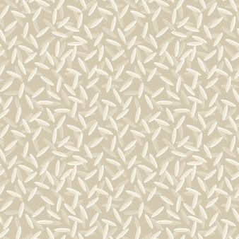 Seamless pattern di riso