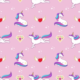Seamless pattern fantasia