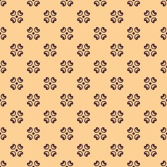 Seamless pattern floreale vintage