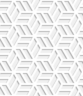 Seamless pattern giapponese tagliato fuori dalla carta