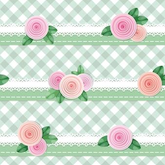 Seamless pattern plaid tessile.