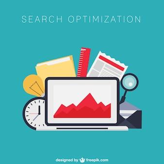 Search engine optimization vettore
