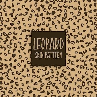 Segni di stampa di texture della pelle di leopardo