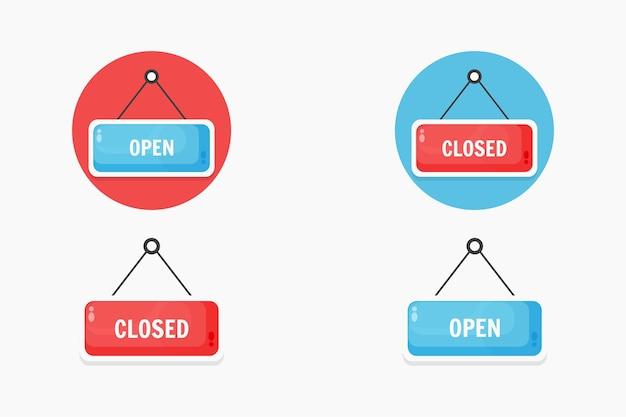Segno aperto e chiuso