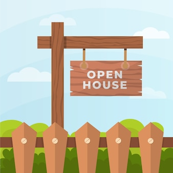 Segno di casa aperta