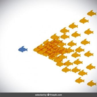 Seguire il concetto di leader