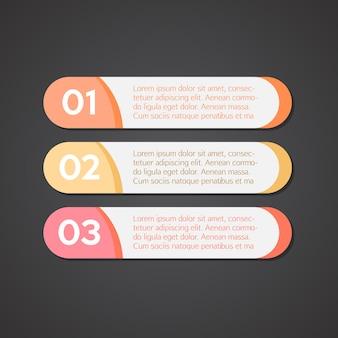 Semplice design infografico
