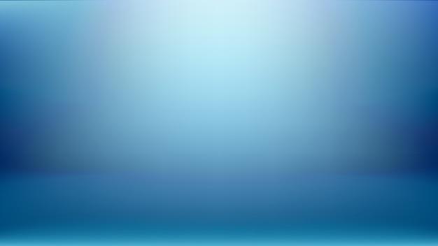 Semplice sfondo blu studio utilizzato come display