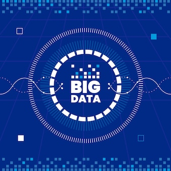 Semplice sfondo di big data