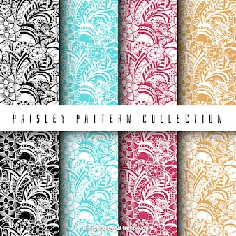Serie di modelli di paisley