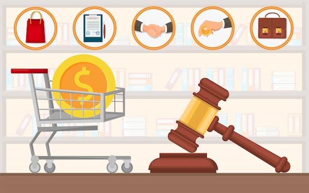 Servizi di avvocato di pagamento dello studio legale acquistare appartamento.