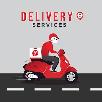 Servizi di consegna