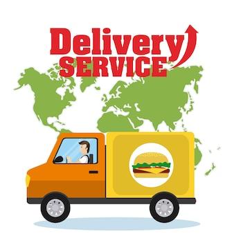 Servizio di consegna mondiale
