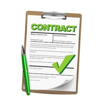 Servizio notarile. documento notarile legale in bianco. lavoratore ufficiale. approvato