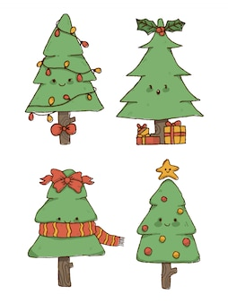 Set albero di natale