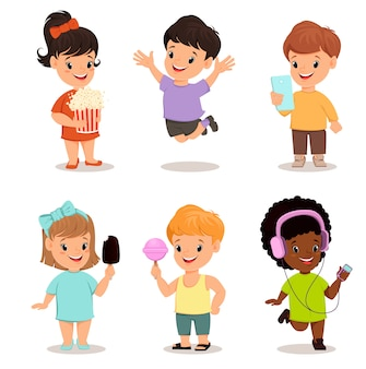 Set bambini. bambini carini