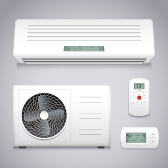 Set condizionatore d'aria