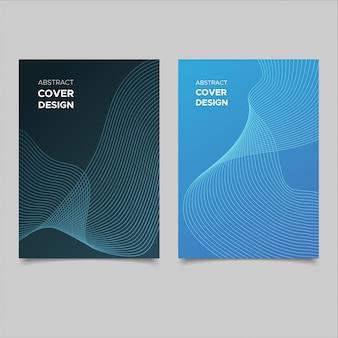 Set copertina astratta moderna