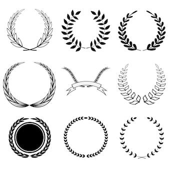 Set corona nera