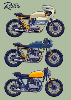 Set da bici cafe racer