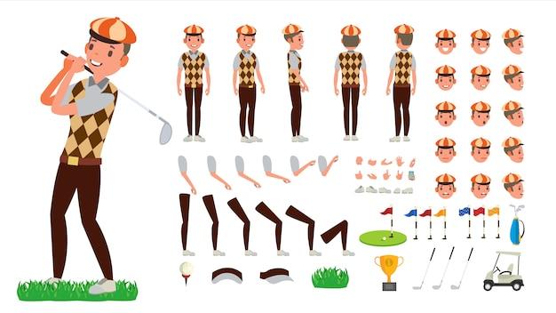 Set da giocatore di golf