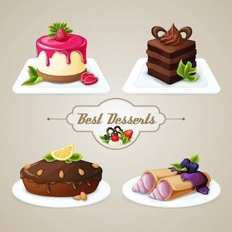 Set dessert dolce