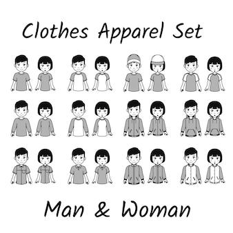 Set di abbigliamento carino